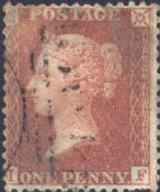 1856 1d Red SG29 Plate 29 'IF'